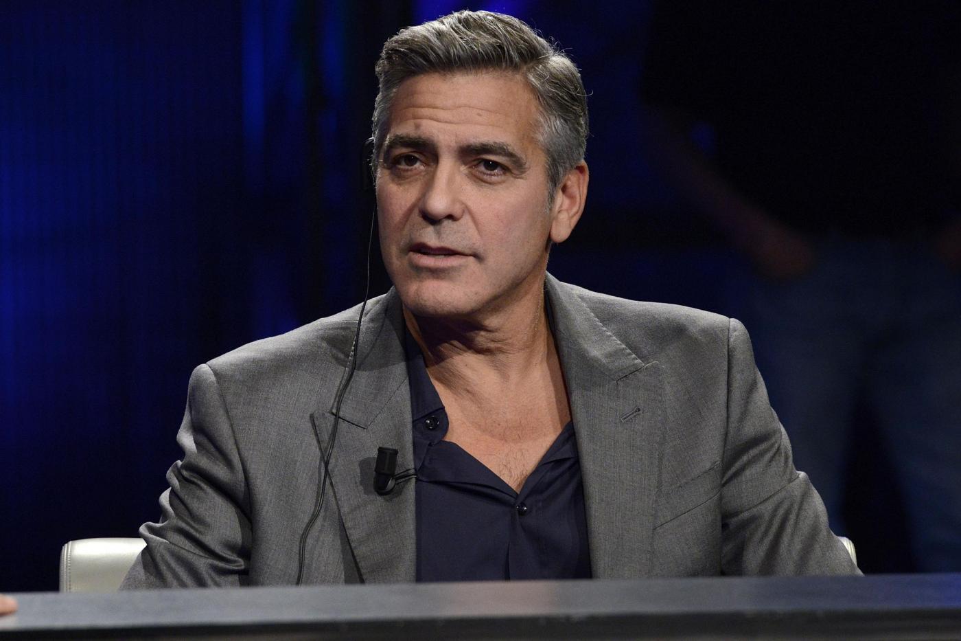 La rissa verbale scatenata da George Clooney per difendere Obama