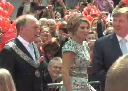 sindaco sedere regina olanda 2