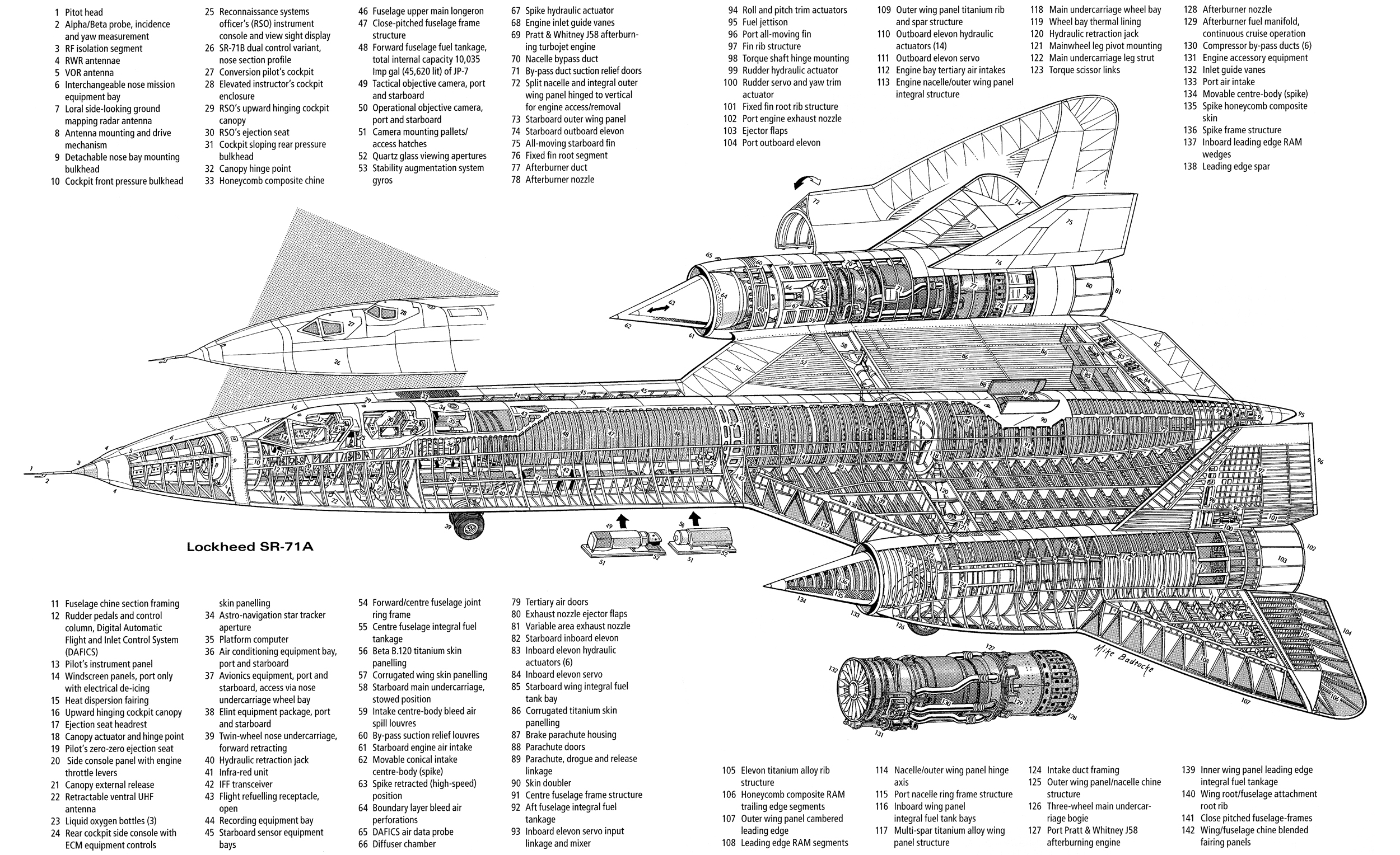 sr 71 engine cutaway  sr  free engine image for user