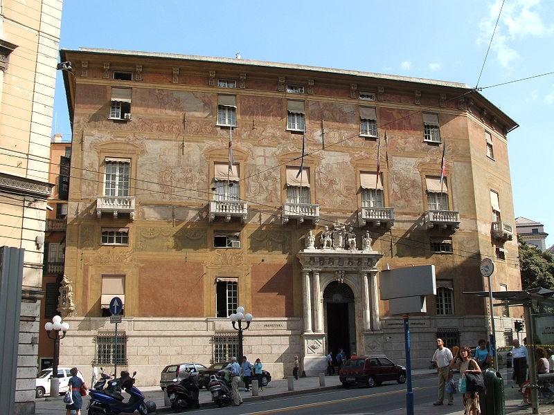 Palazzo Doria-Spinola, sede della Provincia