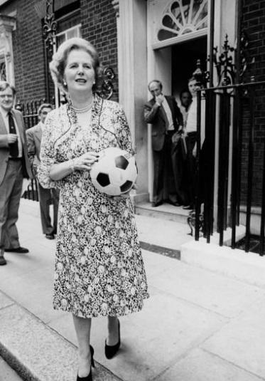 Margaret Thatcher violenza stadi 2