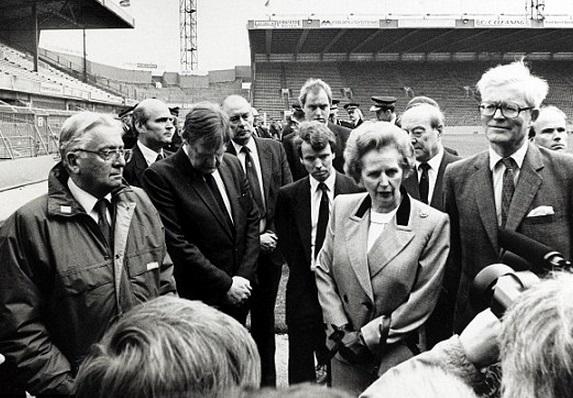 Cosa ha fatto la Thatcher agli hooligans