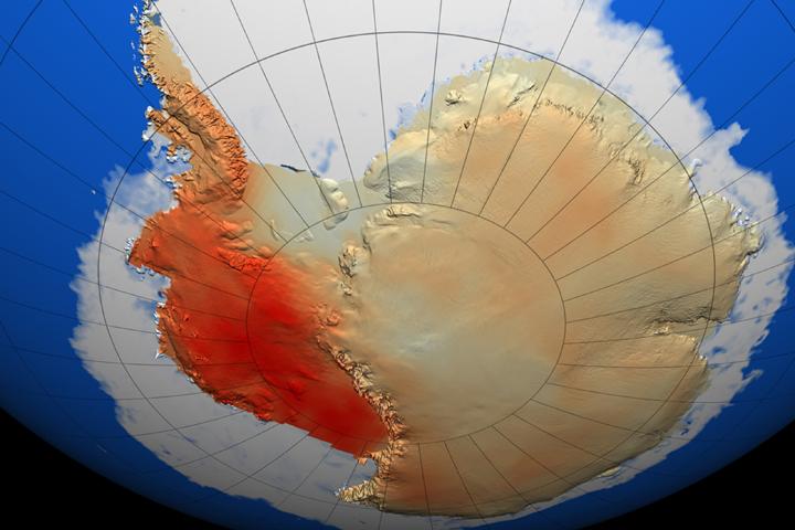 antartide riscaldamento globale