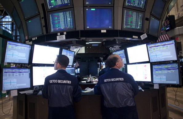 Volatile Trading Day On Wall Street As Fears Over Euro Zone Continue