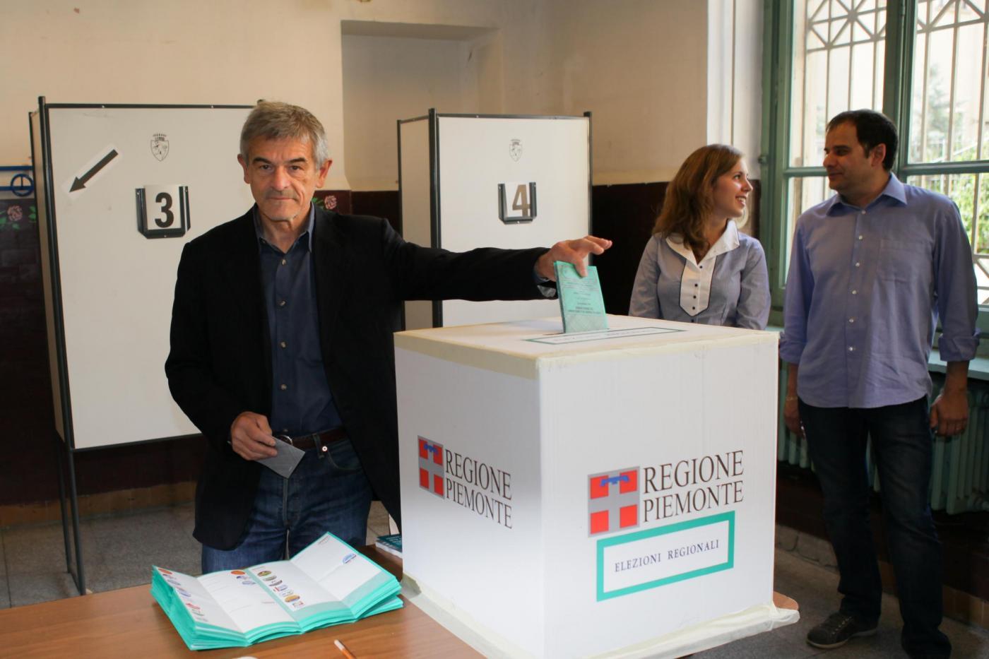 Sergio Chiamparino, candidato governatore della Regione Piemonte per il Partito Democratico (Lapresse)