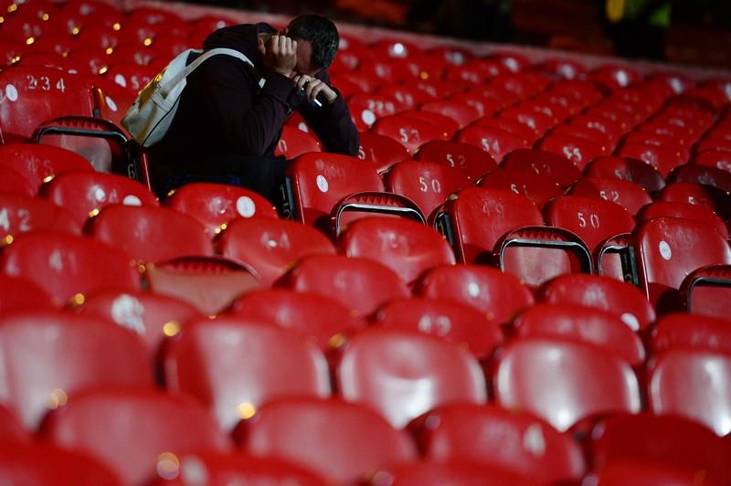La tristezza di un tifoso del Liverpool
