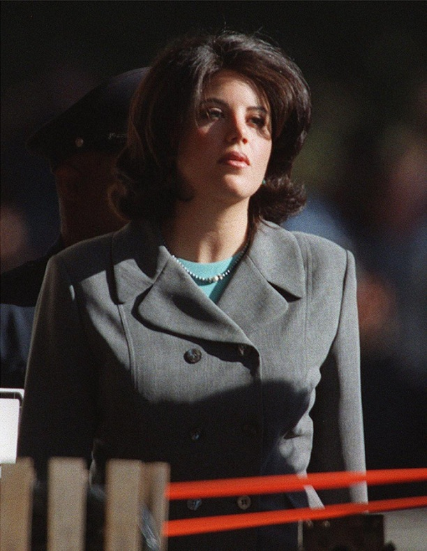 Le First Lady tradite, Bill Clinton con Monica Lewinsky