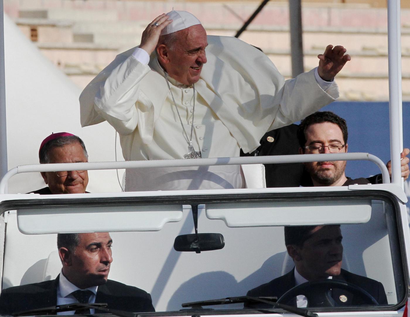 Papa Francesco in visita in Terra Santa