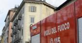 Torino, incendio in palazzo storico in corso Regina Margherita
