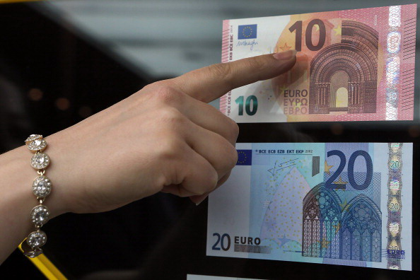 European Central Bank Presents New 10 Euro Note