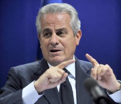 Italian Minister of Energy Claudio Scajo