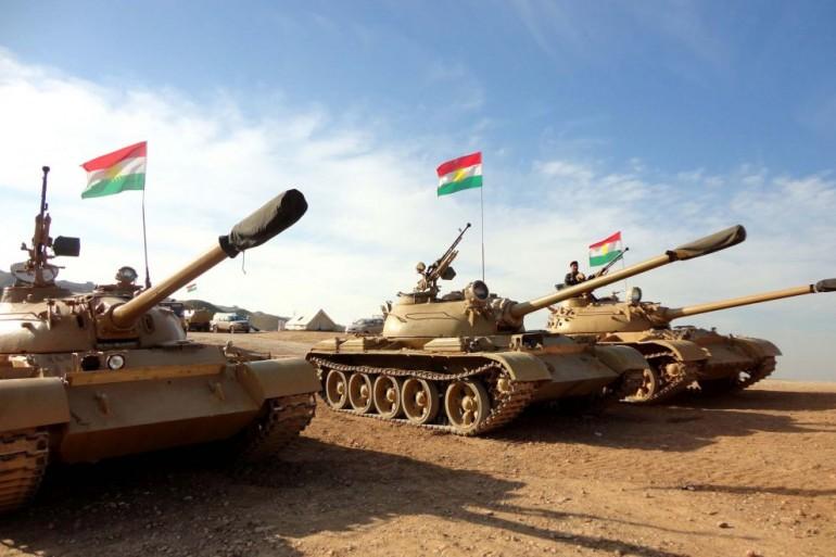I Peshmerga curdi fermano l'ISIS a Mosul