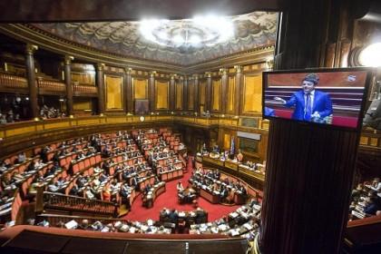 Senato - Comunicazioni del Presidente del Consiglio sul semestre di presidenza italiana Ue