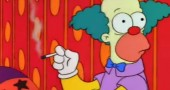 Krusty il Clown muore simpson 2