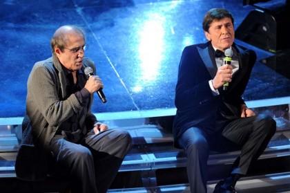 Adriano Celentano ospite di Gianni Morandi al 62° Festival di Sanremo (Foto: Daniele Venturelli/Getty Images Entertainment)