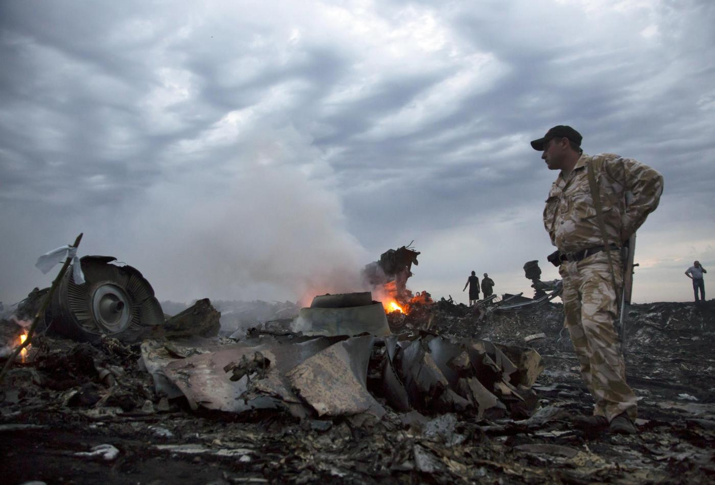 Aereo malese cade in Ucraina