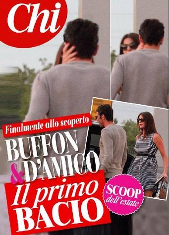 bacio Buffon Ilaria D'Amico