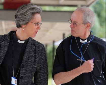 L'Arcivescovo di Canterbury, Justin Welby (destra) - Foto: LINDSEY PARNABY/AFP/Getty Images