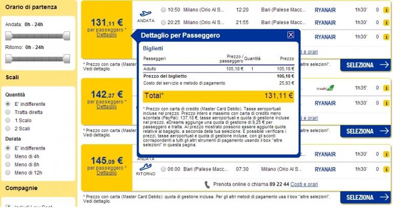 Quanto Costa Un Aereo Da Caccia : Quanto costa comprare un biglietto aereo su internet e