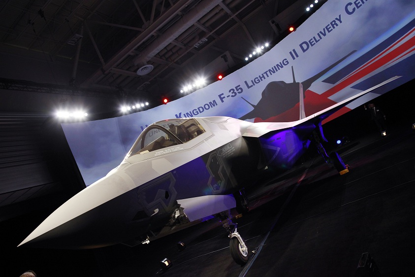 UK Accepts Delivery Of First Lockheed Martin F-35 Lightning II Fighter Jet