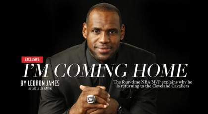 LeBron James su Sports Illustrated
