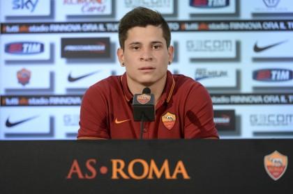 AS Roma presenta il nuovo giocatore Juan Manuel Iturbe