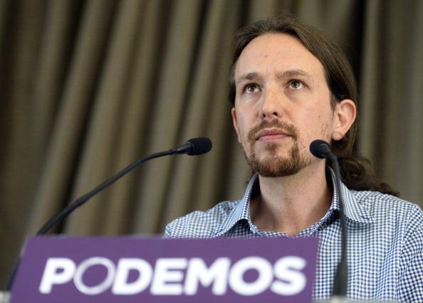 Il movimento di protesta Podemos ( GERARD JULIEN/AFP/Getty Images)