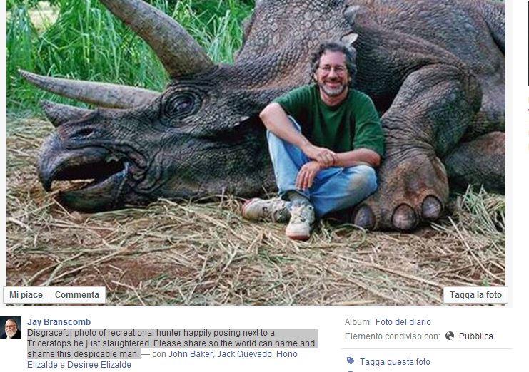 steven spielberg triceratopo 2