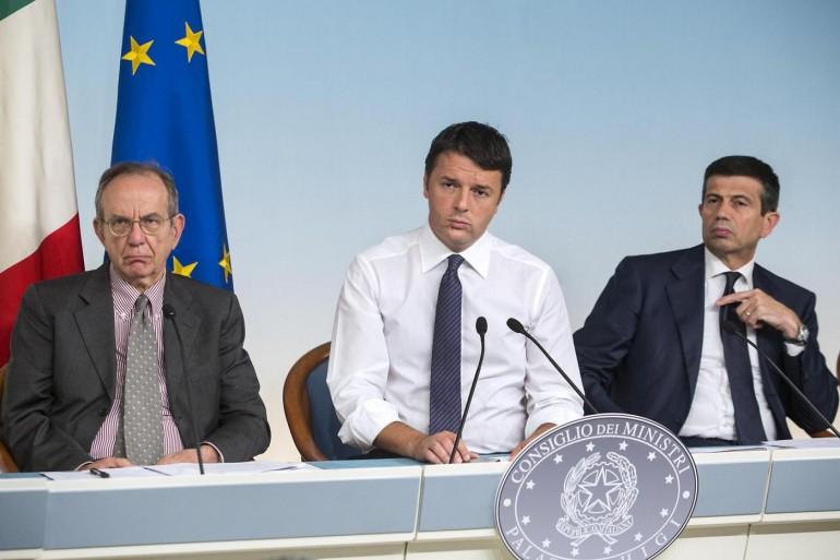 """Matteo Renzi presenta """" Sblocca Italia """""""
