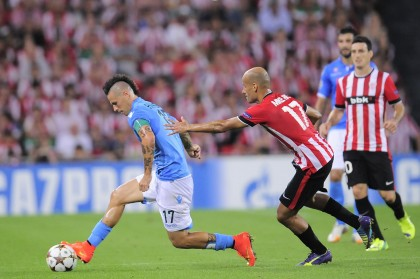Athletic Bilbao vs. Napoli - Playoff Champions League 2014-2015