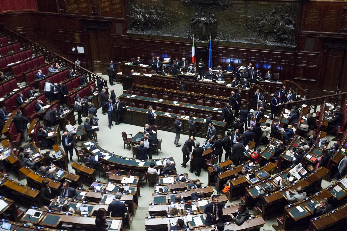 Nuovo italicum ecco come sarebbe la camera se si votasse for Video camera dei deputati oggi
