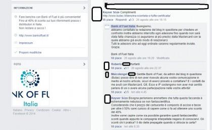 Dalla pagina Fb BOF
