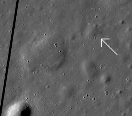 Foto: NASA/GSFC/Arizona State University/LRO