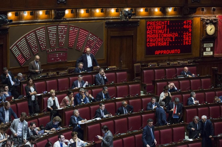 Il voto di preferenza grande assente in europa for La camera dei deputati