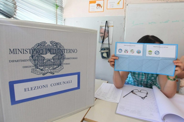 Scheda elettorale (Photocredit: ;Nicola Baldieri/Lapresse