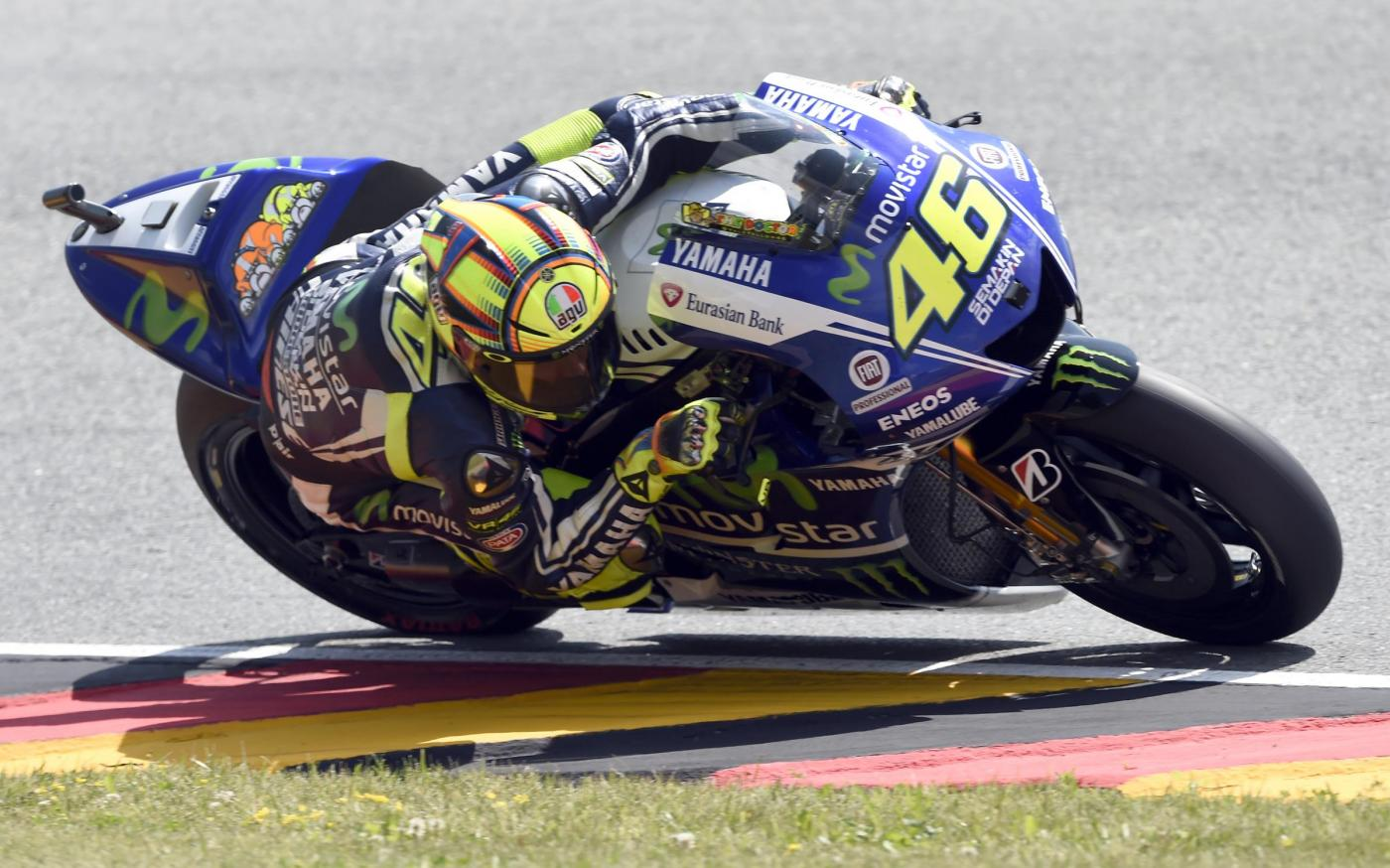 Valentino Rossi (AP Photo/Jens Meyer)