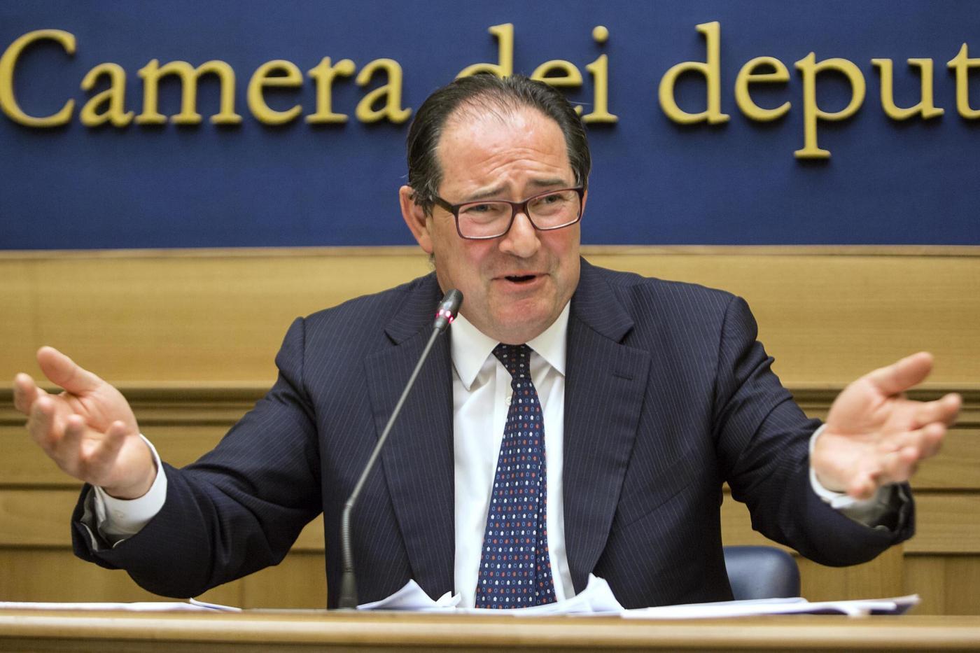 Conferenza stampa di Giancarlo Galan