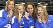 Nuoto, Europei: Pellegrini oro nella staffetta 4x200
