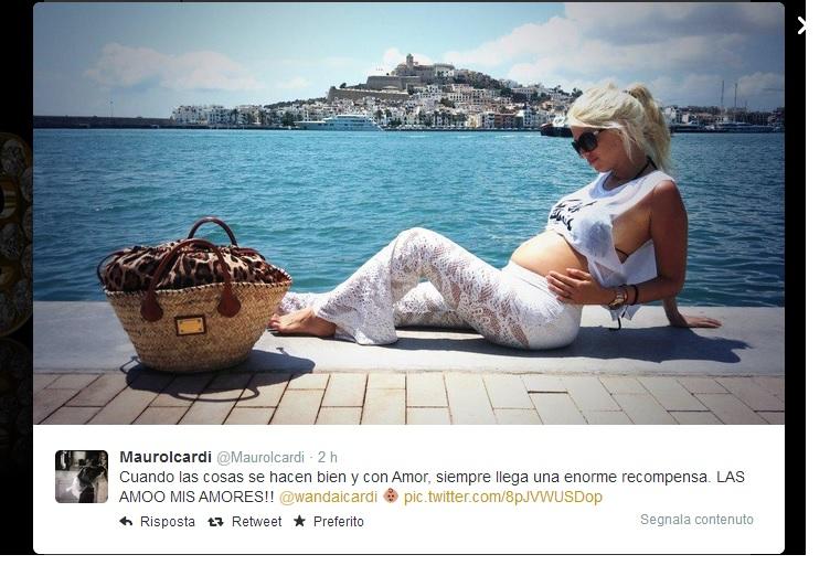 Il messaggio di Mauro Icardi su Twitter