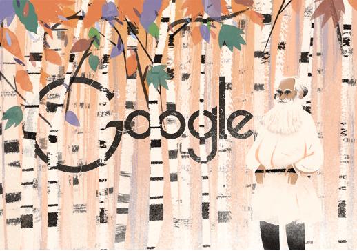 Lev Tolstoj doodle