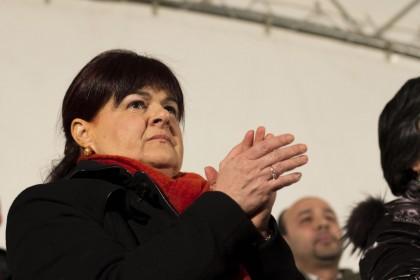 """Manifestazione """"A testa alta per la città dell'Aquila"""""""