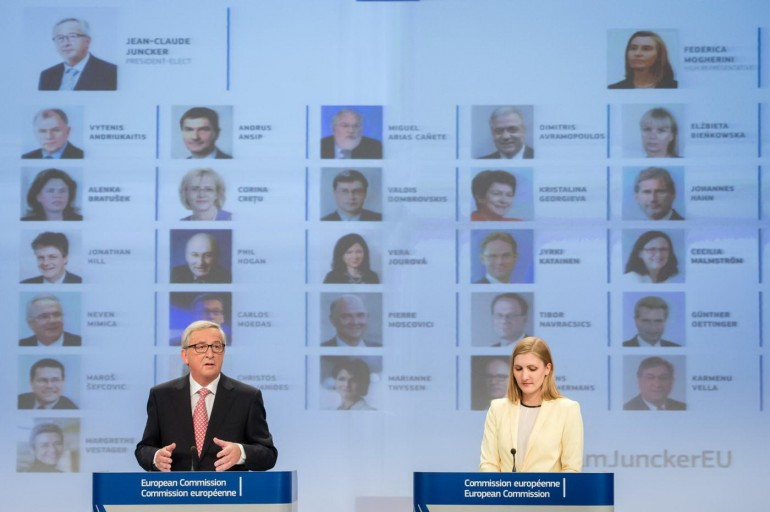 Jean-Claude Juncker presenta la nuova Commissione, Photo/Geert Vanden Wijngaert