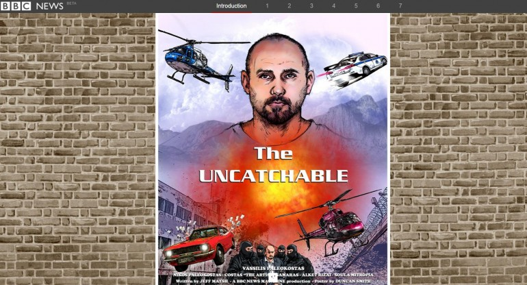 La copertina di The Uncatchable