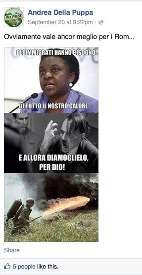 Facebook/AndreaDellaPuppa