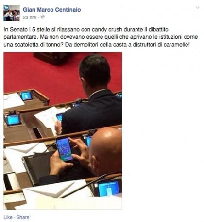 screenshot via Facebook/GianMarcoCentinaio