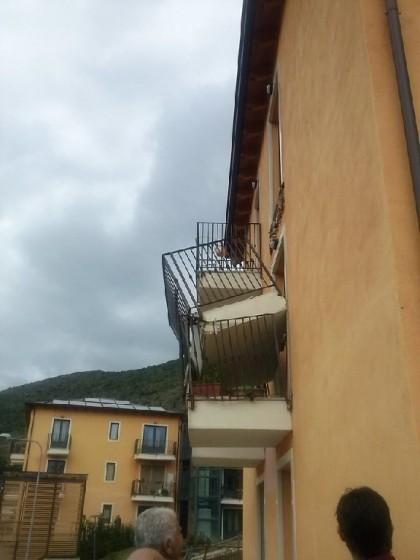 crollo balcone aquila 3