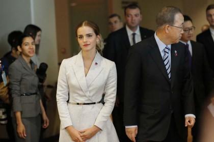 Emma Watson alle Nazioni Unite - Foto: Eduardo Munoz Alvarez/Getty Images
