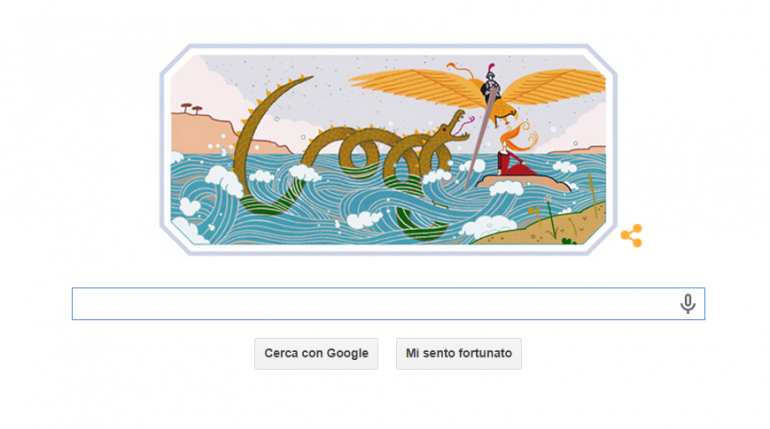 google doodle ariosto 8 settembre