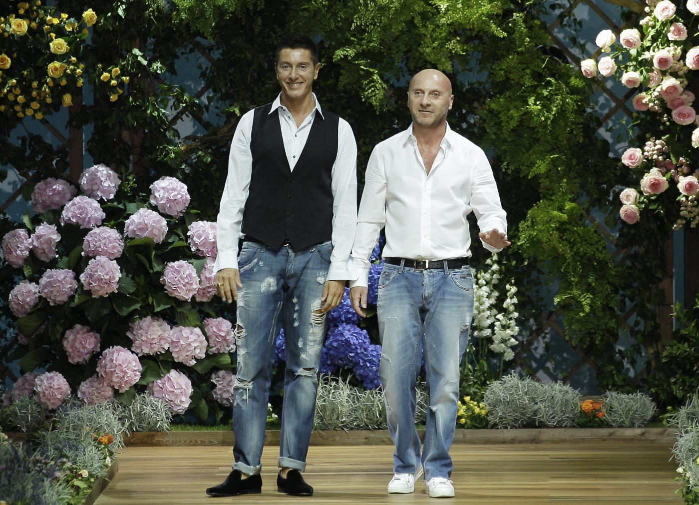 Domenico Dolce e Stefano Gabbana (Lapresse)
