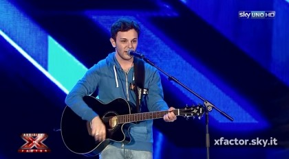 Lorenzo Fragola, 19 anni (Foto: YouTube/X Factor Italia)